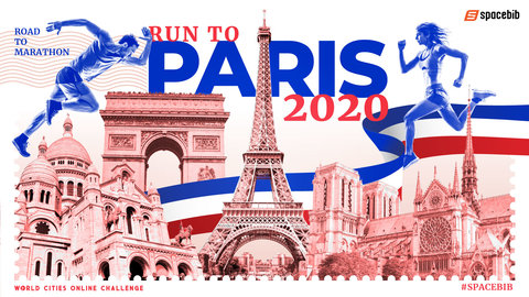 World Cities Online Challenge: Run To Paris 2020