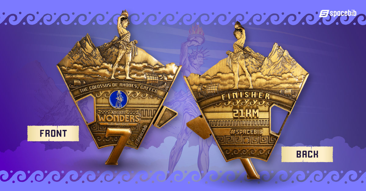 Finisher Medal - Colossus of Rhodes