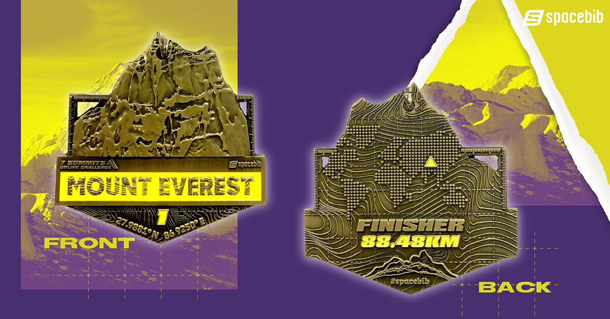 Finisher Medal - Mount Everest
