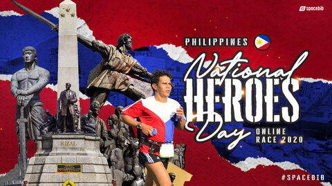 Philippines National Heroes Day Online Race 2020