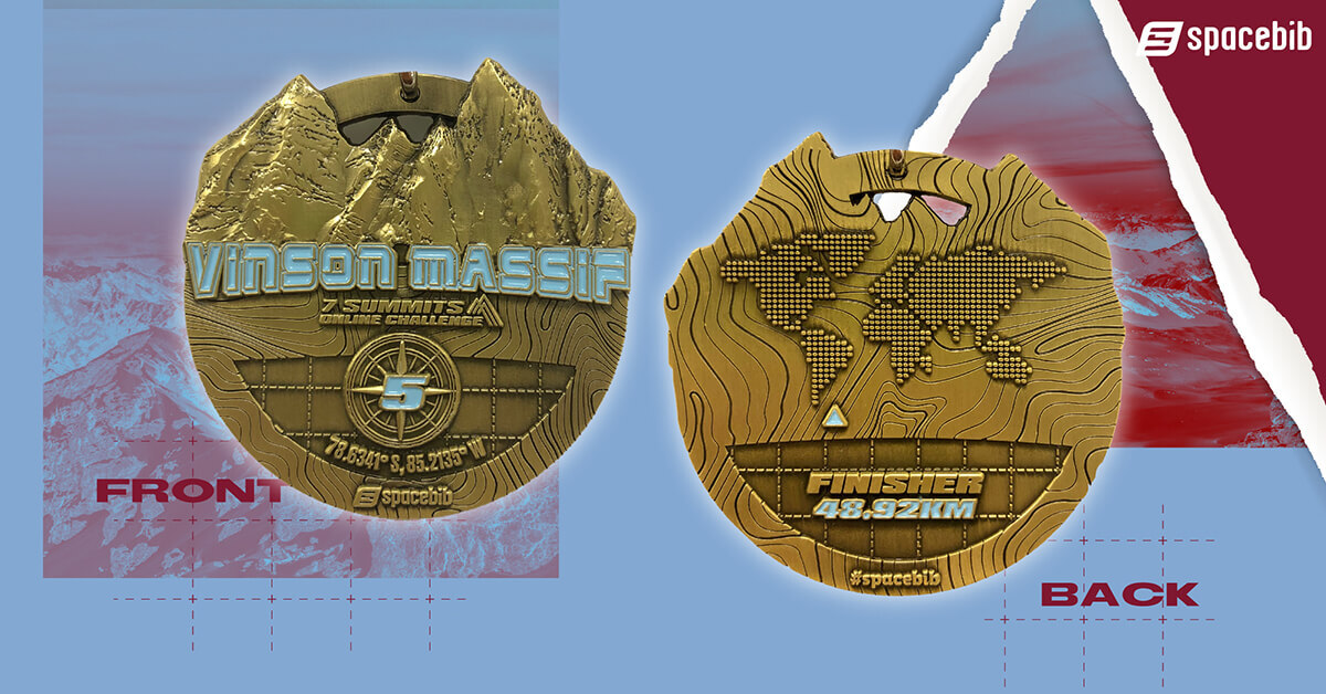 Finisher Medal - Vinson Massif