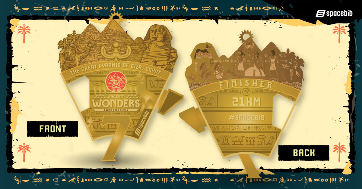Finisher Medal - Great Pyramid of Giza
