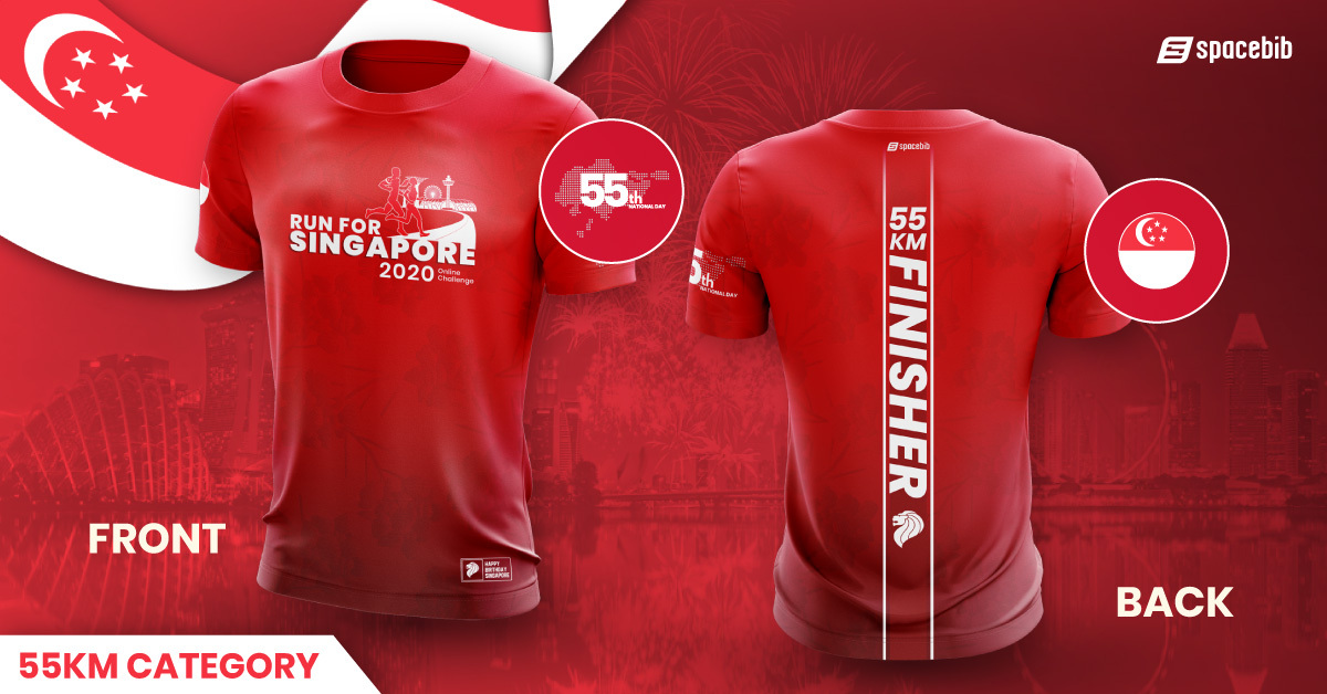 Finisher T-Shirt - 55km