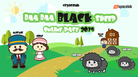 Baa Baa Black Sheep Online Race 2019