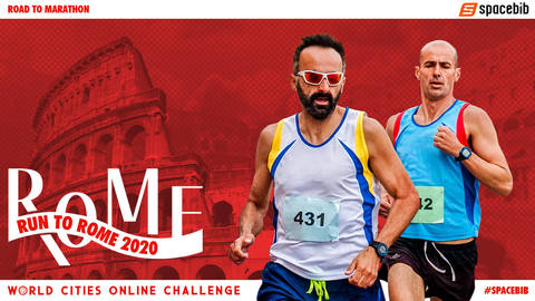 World Cities Online Challenge: Run To Rome 2020