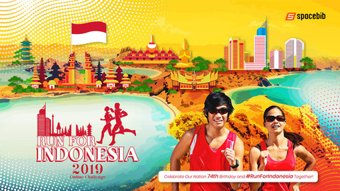 Run For Indonesia Online Challenge 2019