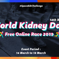 World Kidney Day Free Online Race 2019