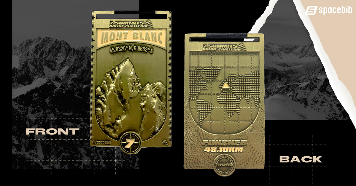 Finisher Medal - Mont Blanc