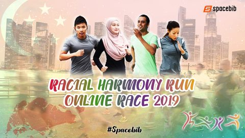 Racial Harmony Run Online Race 2019