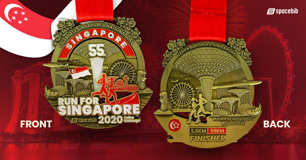 Finisher Medal - 55km