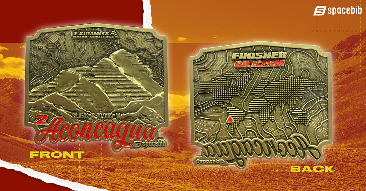 Finisher Medal - Aconcagua