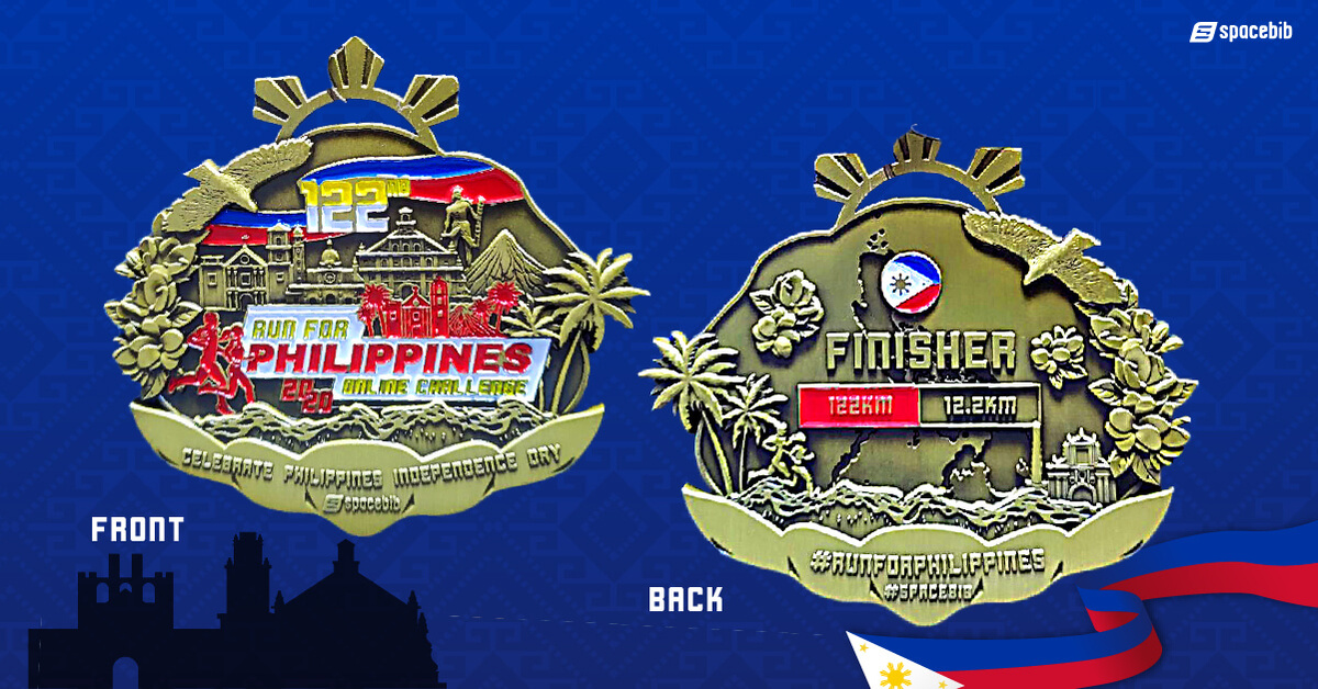 Finisher Medal - 122km