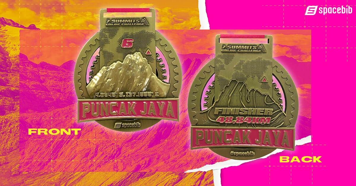 Finisher Medal - Puncak Jaya