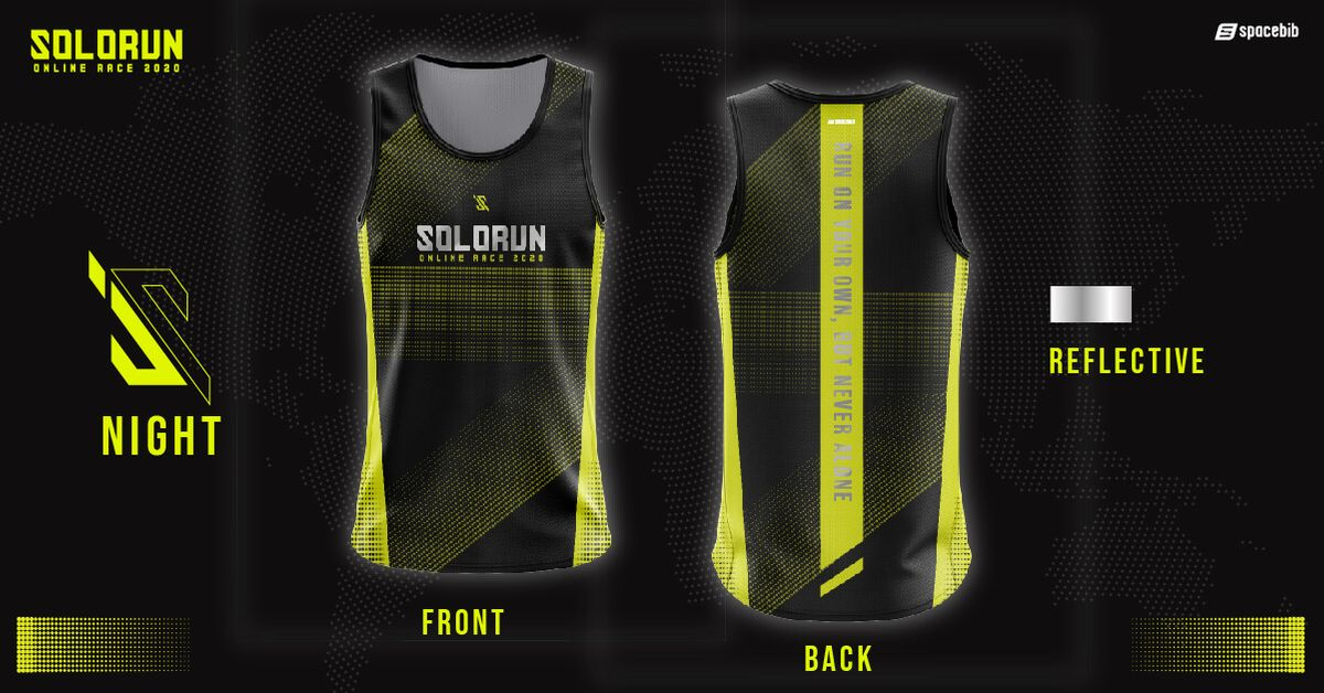 Running Singlet (Night)